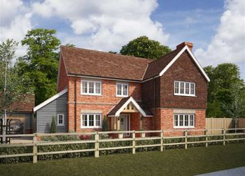 Thumbnail 4 bedroom detached house for sale in High Street, Upper Lambourn, Berkshire