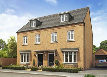 "Thumbnail 3 bedroom semi-detached house for sale in ""Kennett"" at Holme Way, Worksop"