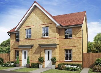 "Thumbnail 3 bedroom semi-detached house for sale in ""Palmerston"" at The Ridge, London Road, Hampton Vale, Peterborough"