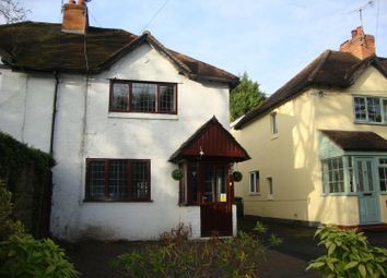 Thumbnail 3 bedroom semi-detached house to rent in Old Warwick Road, Lapworth