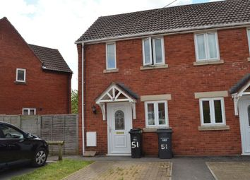 Thumbnail 2 bedroom semi-detached house to rent in Maesdown Road, Evercreech, Shepton Mallet