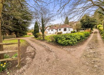 Knatts Valley Road, Knatts Valley, Sevenoaks TN15. 4 bed detached bungalow for sale