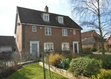 Thumbnail 3 bed semi-detached house for sale in Bromedale Avenue, Mulbarton, Norwich