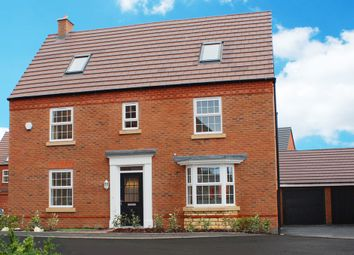 "Thumbnail 5 bed detached house for sale in ""Moorecroft"" at Allendale Road, Loughborough"