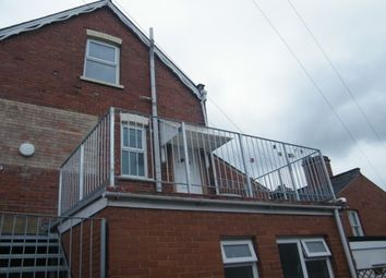 Thumbnail 2 bed flat to rent in Manston Road, Exeter