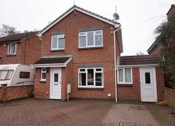 Thumbnail 4 bedroom detached house for sale in Brookside, Nuneaton