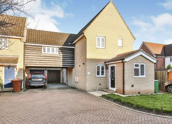 3 bed link-detached house for sale in Folkard Close, Long Stratton, Norwich NR15