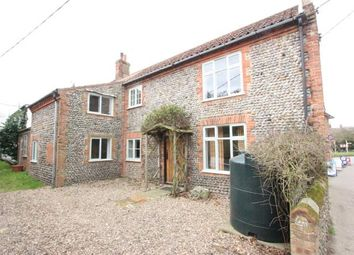 Thumbnail 3 bed end terrace house for sale in Southrepps, Norwich, Norfolk