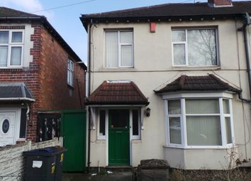 Thumbnail 3 bed semi-detached house for sale in Bragg Road, Handsworth, Birmingham