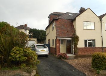 Thumbnail 4 bed semi-detached house to rent in Westlands Road, Shrewsbury