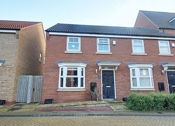 Thumbnail 3 bedroom semi-detached house for sale in Greenwich Park, Kingswood, Hull