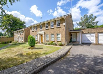 Thumbnail 3 bed flat for sale in Burleigh Park, Cobham, Surrey