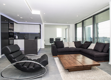 Thumbnail 3 bed flat for sale in Dollar Bay, Lawn House Close, Canary Wharf, London