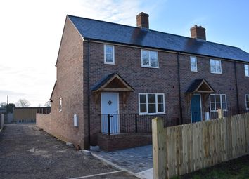 Thumbnail 3 bed end terrace house for sale in Holwell Road, Kings Stag, Sturminster Newton
