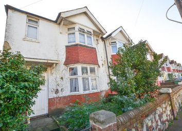 Thumbnail 3 bed end terrace house for sale in Woodgate Road, Eastbourne