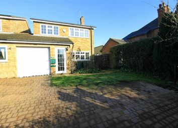 Thumbnail 4 bed link-detached house for sale in Station Road, Bow Brickhill, Milton Keynes