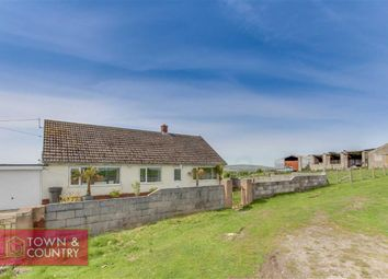 Thumbnail Detached bungalow for sale in Wern Road, Rhosesmor, Mold, Flintshire