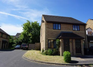 Thumbnail 2 bed semi-detached house to rent in Siddons Close, Oundle, Peterborough