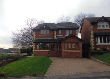Thumbnail 5 bed detached house for sale in Hillstone Avenue, Shawclough