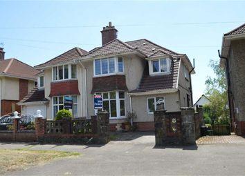 Thumbnail 4 bedroom semi-detached house for sale in Glanmor Road, Swansea