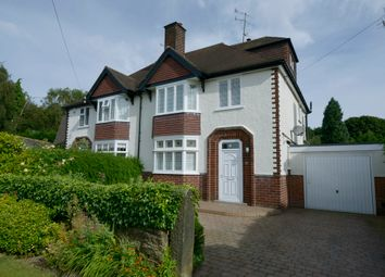 Thumbnail 4 bed semi-detached house for sale in Somersall Park Road, Chesterfield