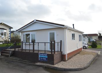 Thumbnail 2 bed mobile/park home for sale in Newlands Park, Aylesbeare, Exeter