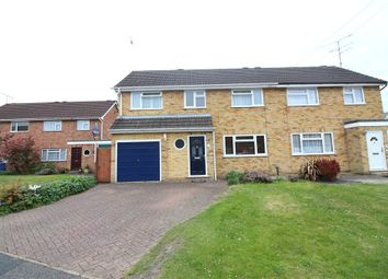 Thumbnail 4 bed semi-detached house for sale in Harpton Close, Yateley, Hampshire