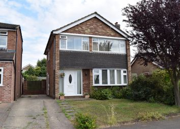 Thumbnail 3 bed detached house for sale in Heath Drive, Cottesmore, Oakham