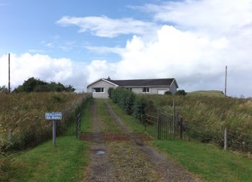 Thumbnail 4 bed detached bungalow for sale in Bornesketaig, Kilmuir, Isle Of Skye