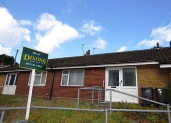 Thumbnail 1 bedroom bungalow to rent in Fladbury Crescent, Birmingham