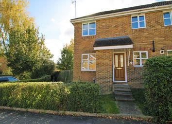 Thumbnail 1 bed end terrace house to rent in Oak Close, Basingstoke