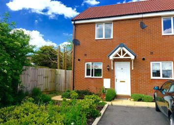 Thumbnail 2 bed end terrace house for sale in Trowbridge Close, Swindon