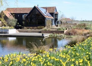 Thumbnail 4 bedroom barn conversion for sale in Stowmarket