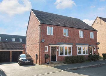 Thumbnail 3 bed semi-detached house for sale in Babbage Crescent, Corby
