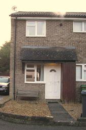 Thumbnail 1 bed terraced house to rent in Larchwood, Chineham, Chineham, Basingstoke, Hampshire