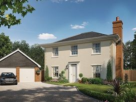 Thumbnail 4 bed detached house for sale in The Apollonia At St James Park, Off Cam Drive, Ely