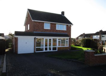 Thumbnail 3 bed detached house for sale in Dorset Avenue, Wigston