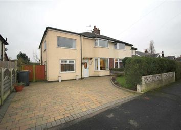 Thumbnail 4 bedroom semi-detached house for sale in Lowood Grove, Lea, Preston
