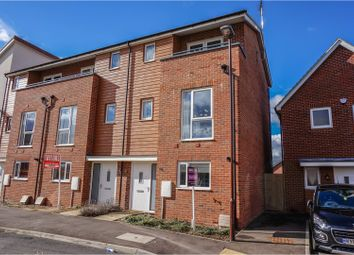 Thumbnail 4 bed end terrace house for sale in Knights Crescent, Bletchley