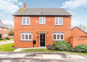 Thumbnail 3 bed detached house for sale in Beck Crescent, Loughborough
