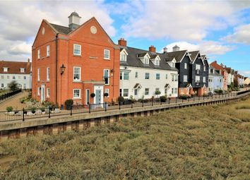 Thumbnail 3 bed town house for sale in West Quay, Wivenhoe, Colchester, Essex