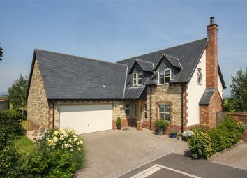 Thumbnail 4 bed detached house for sale in Bruewithy, 4 Old Orchard Close, Meare, Glastonbury, Somerset