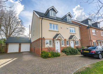 Thumbnail 3 bed semi-detached house for sale in Ash Close, Banstead