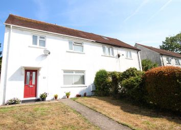 Thumbnail 3 bed semi-detached house for sale in Brynheulog Terrace, Machen, Caerphilly