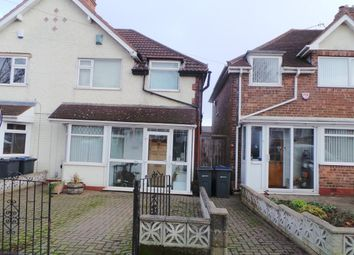 Thumbnail 2 bed semi-detached house for sale in Bleak Hill Road, Erdington, Birmingham