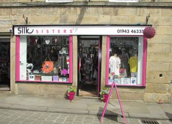 Thumbnail Retail premises for sale in Market Street, Otley