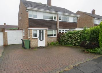 Thumbnail 3 bed semi-detached house to rent in Whitethorn Crescent, Streetly, Sutton Coldfield