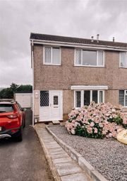 Thumbnail 3 bed semi-detached house for sale in Heol Will George, Waunarlwydd, Swansea