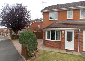 Thumbnail 2 bedroom semi-detached house to rent in Holly Close, Droitwich Spa, Worcestershire