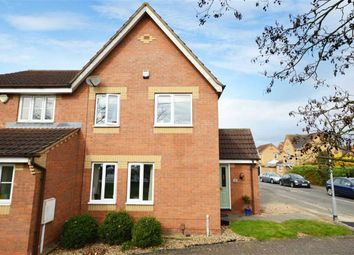 Thumbnail 3 bedroom property for sale in Heron Walk, North Hykeham, Lincoln